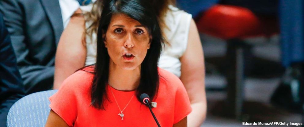NEW: UN Amb. Nikki Haley set to lay out what the Trump administration claims is 'irrefutable evidence that Iran has deliberately violated its international obligations and has tried and failed to cover up these violations.' https://t.co/RvktBXD2ym