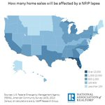 How Many Home Sales Will be Affected by a NFIP Lapse? Nationwide, it is estimated that for each day that NFIP lapses, approximately 1,330 home sale closings will be delayed or cancelled. https://t.co/MRWei6AEvn