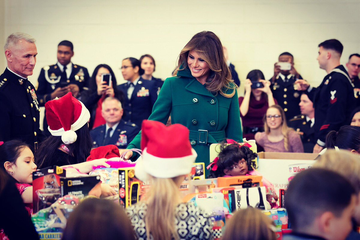 Great day with military families at @JBABdc as we sorted toys for children. Thank you to @ToysForTots_USA for all that you do for kids across the country.  Merry #Christmas!
