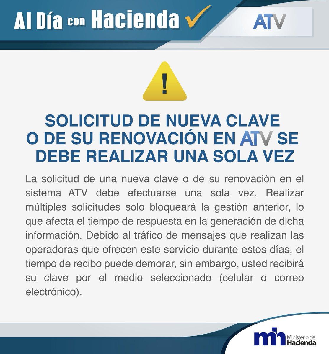 SOLICITUD DE NUEVA CLAVE O DE SU RENOVAC...