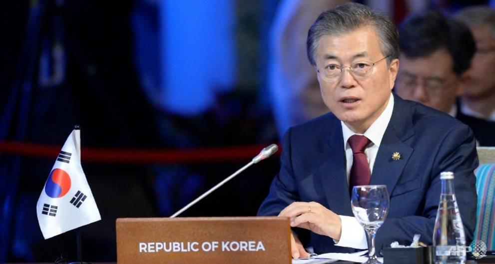 Chinese, South Korean leaders meet hopin...
