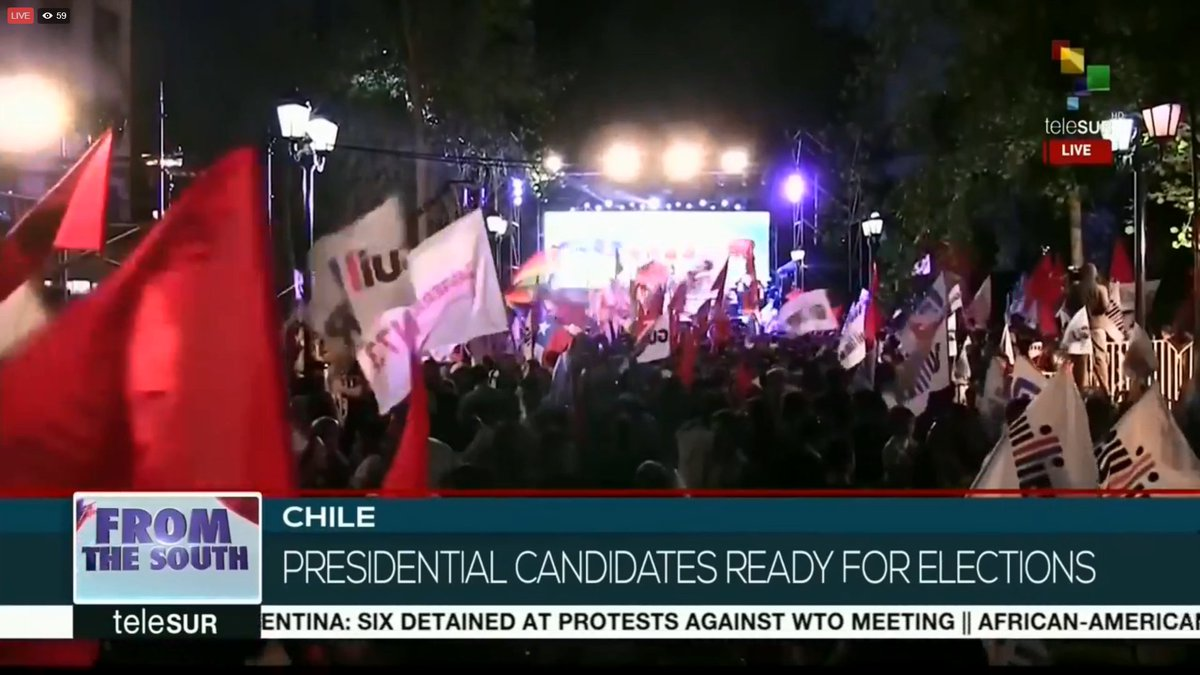 From The South | Chile head's to the polls on Dec. 17th to elect their next president.