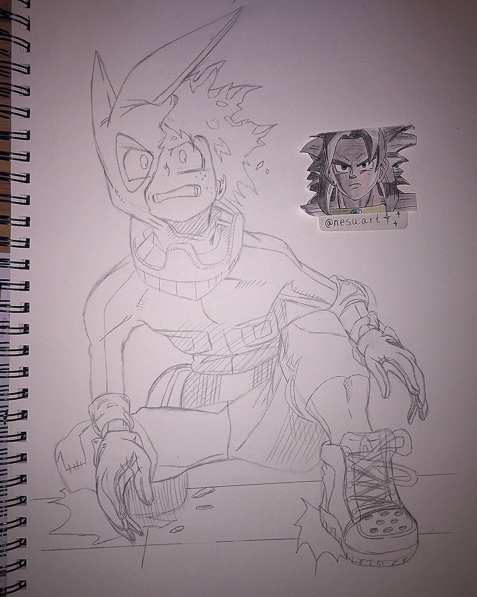 Denzel Chabata On Twitter Midoriya Izuku Sketch My Hero