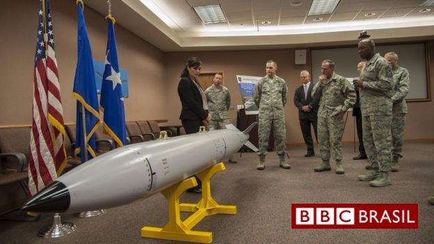 As novas armas dos EUA que poderiam 'fritar' sistemas de mísseis balísticos da Coreia do Norte sem ferir pessoas https://t.co/rsbKZaDW5o