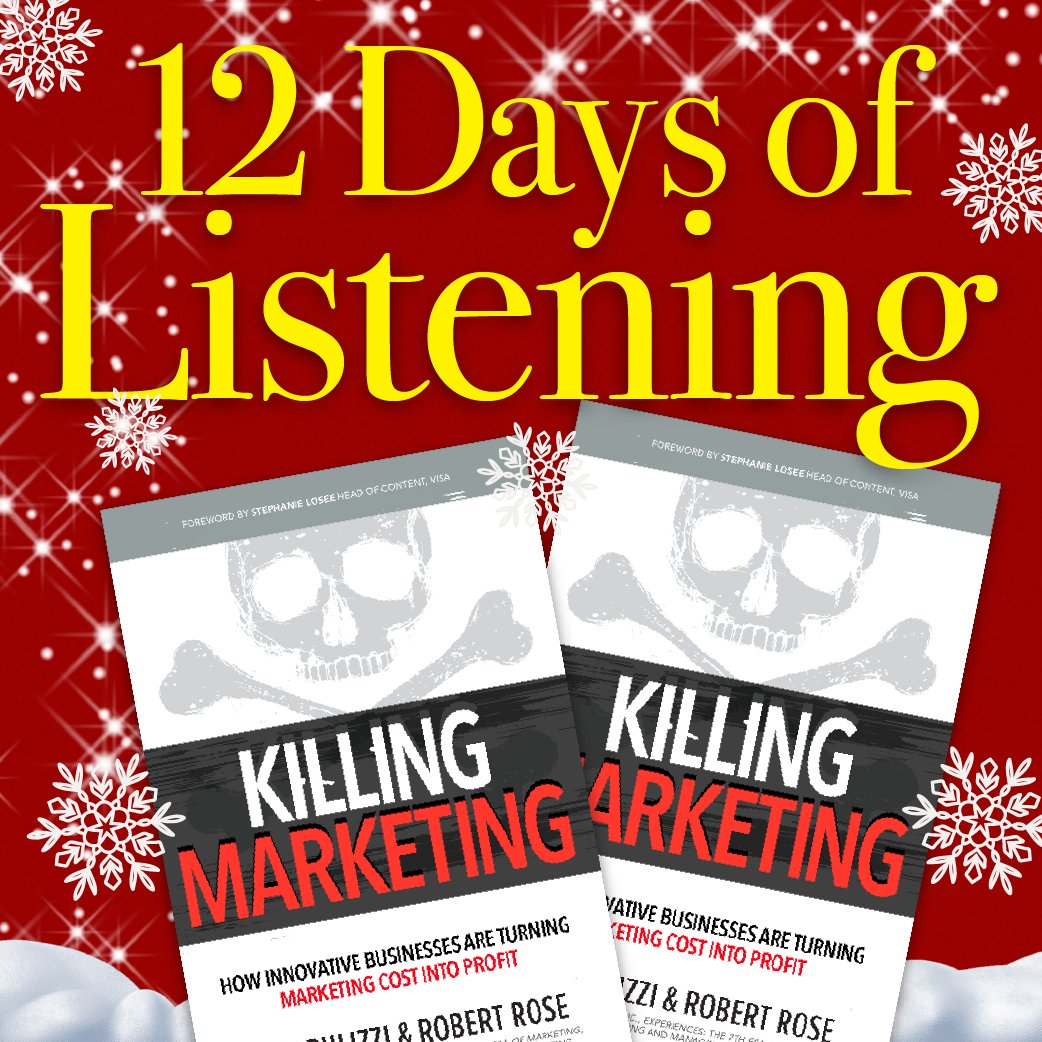 Congratulations to @av8r2000! He's the winner of our 8th Day of Listening! (Mike, please DM us for details.)