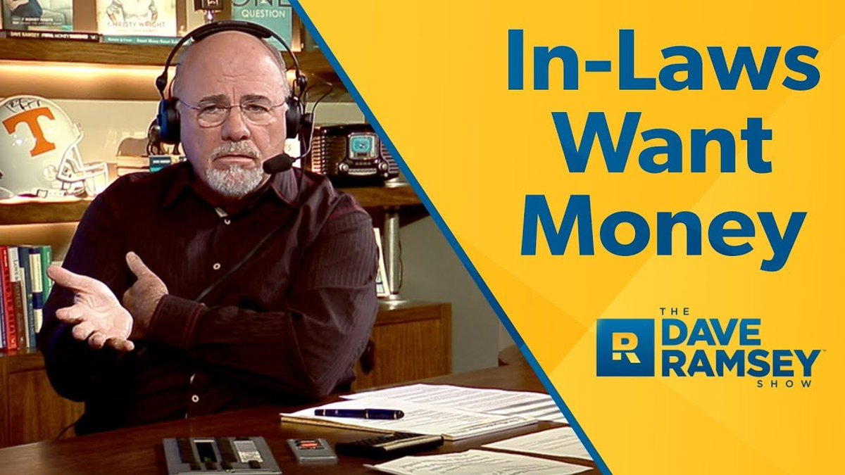In-Laws Always Want #Money @DaveRamsey https://t.co/npB1UNEJ09 #family #marriage - How would you handle this?