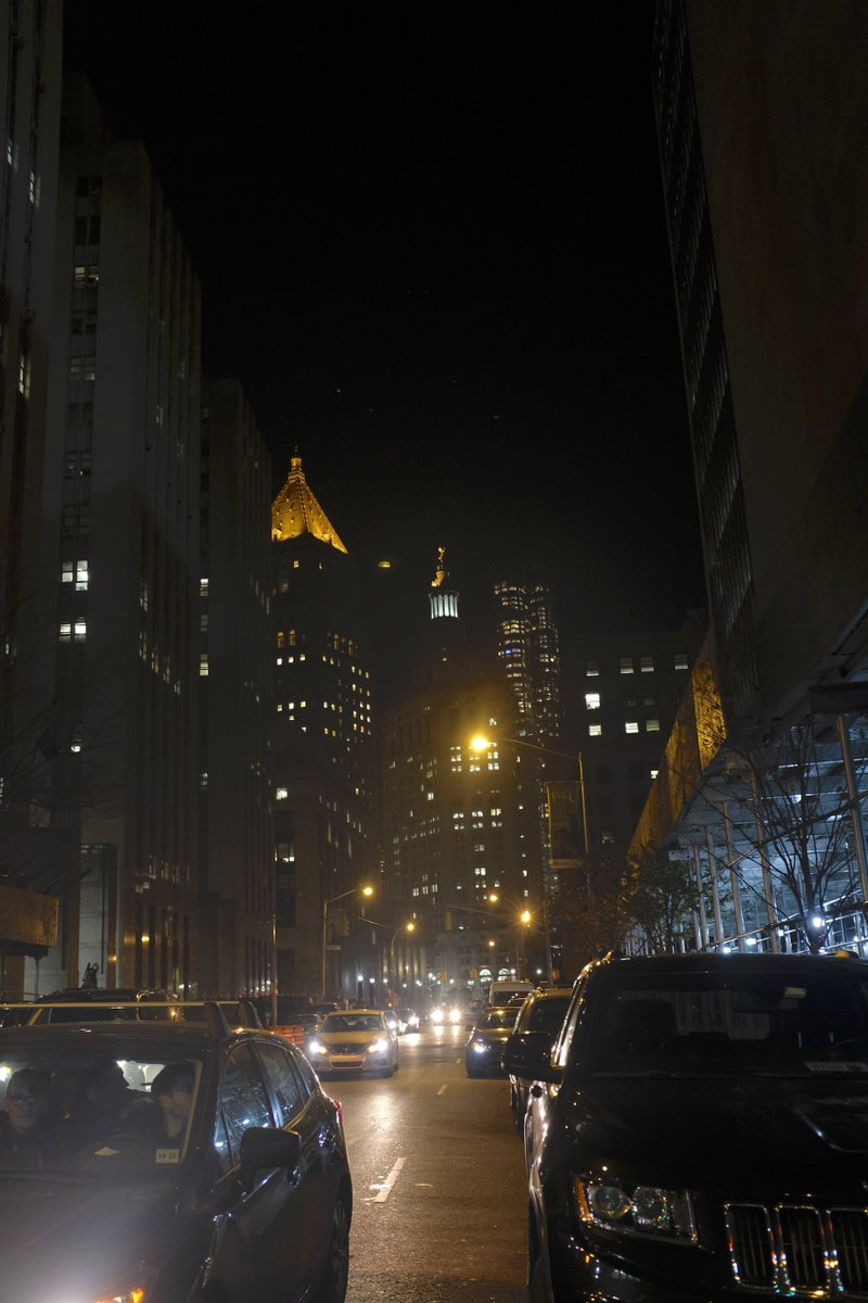 City Of New York On Twitter Centre Street At Night Near Chinatown