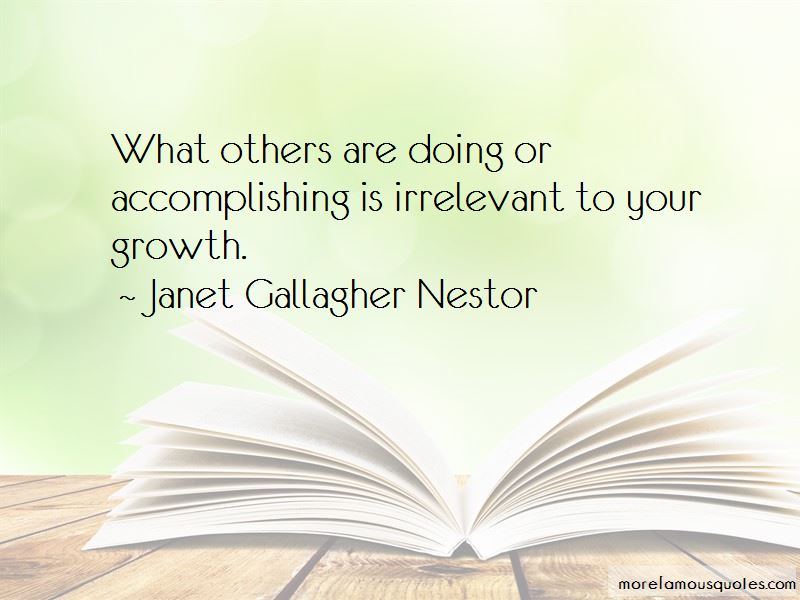 #RadicalSelfCare #WednesdayWisdom   What others are doing or accomplishing is irrelevant to your growth. #Quote