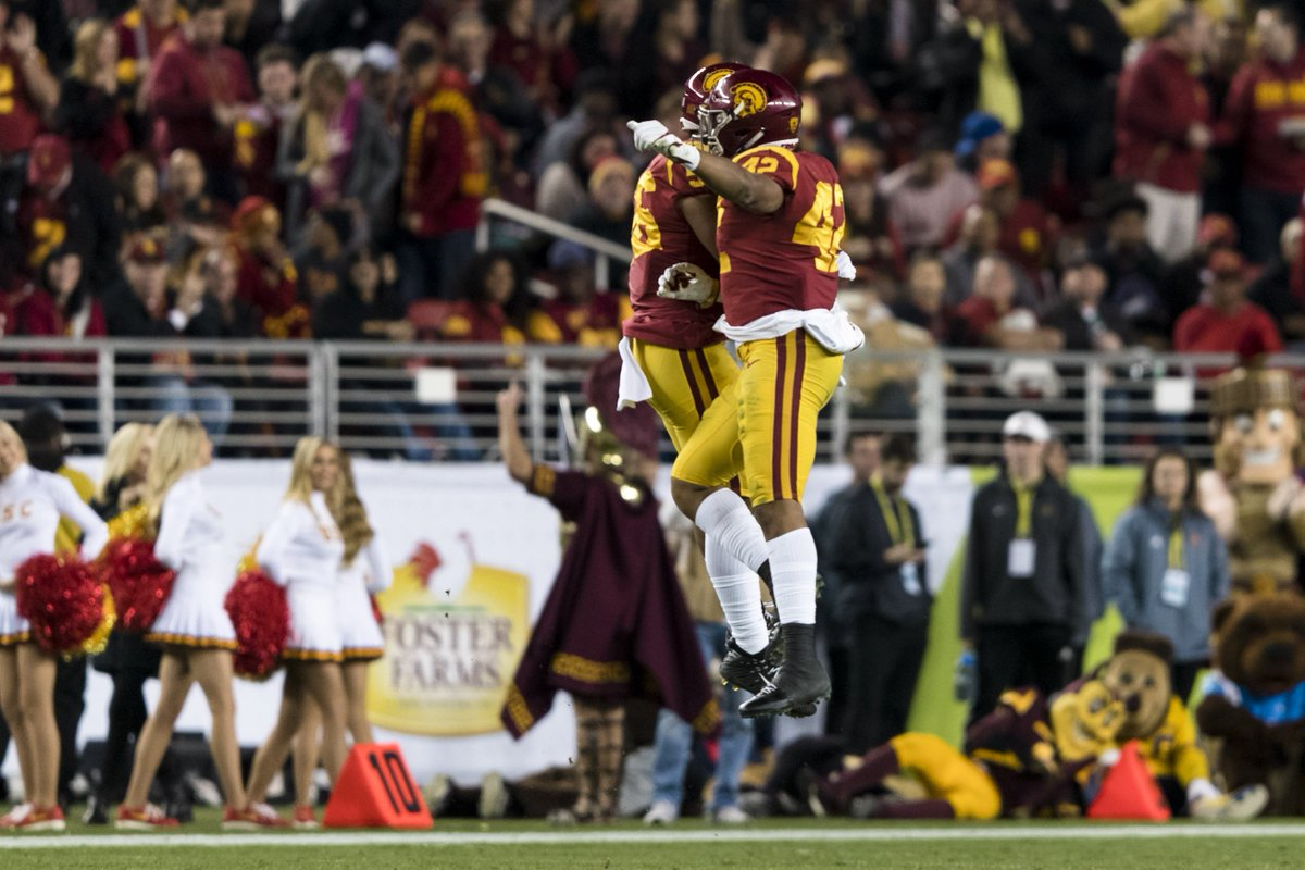 Pac-12 CHAMPS!   USC is back on top of the Pac-12 with a 31-28 win over Stanford