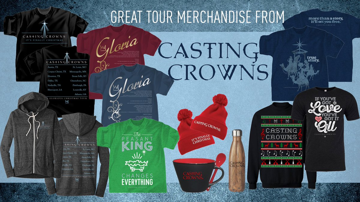 Casting Crowns Its Finally Christmas.Casting Crowns On Twitter Be Sure To Visit Our Merch Table