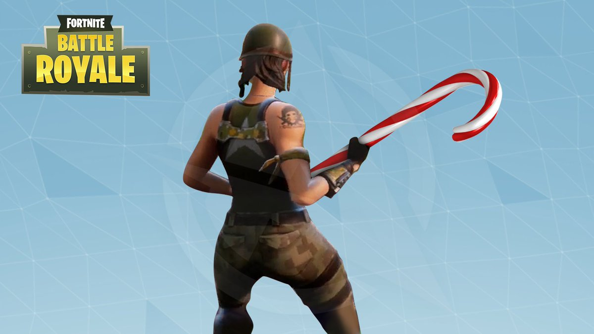 Potential Fortnite Battle Royale Christmas Update 1 Candy Cane