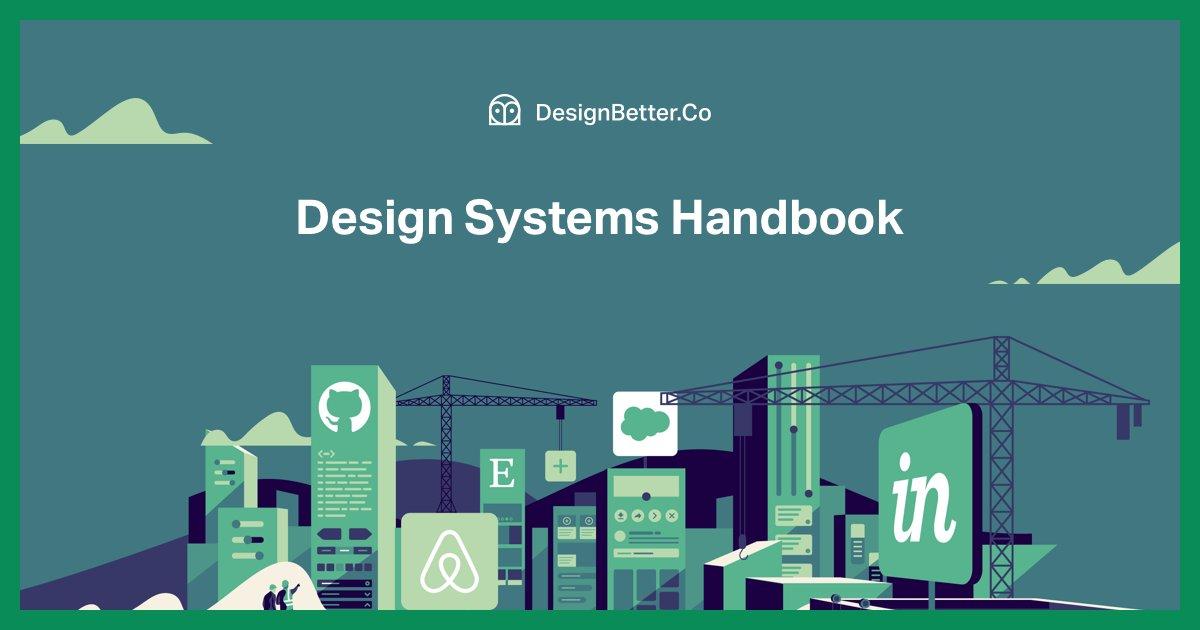 设计系统入门手册:介绍设计系统,设计你的系统,创建你的系统,将系统投入实用、扩展你的系统、设计系统的未来展望 // Design Systems Handbook https://t.co/2l7ppRM0SQ https://t.co/yrZllXiH95 1