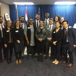 Today Circuit Attorney Gardner  met the next generation of change makers, members of the Coro Fellows Program.