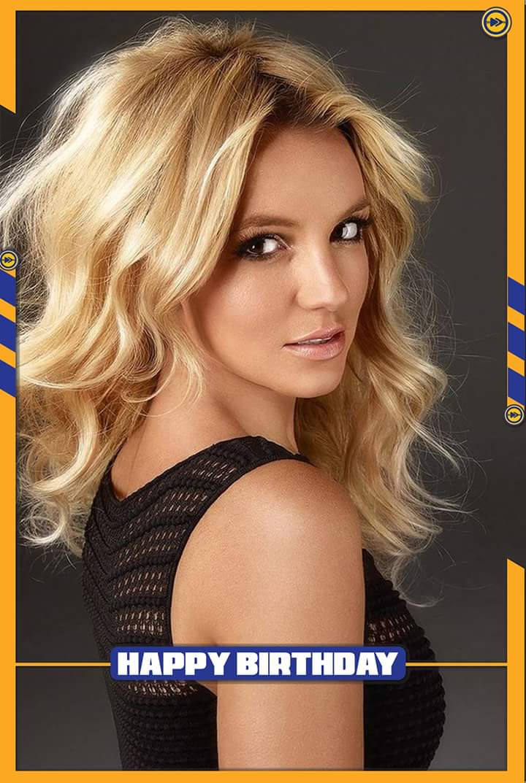Happy birthday to Britney Spears!!!