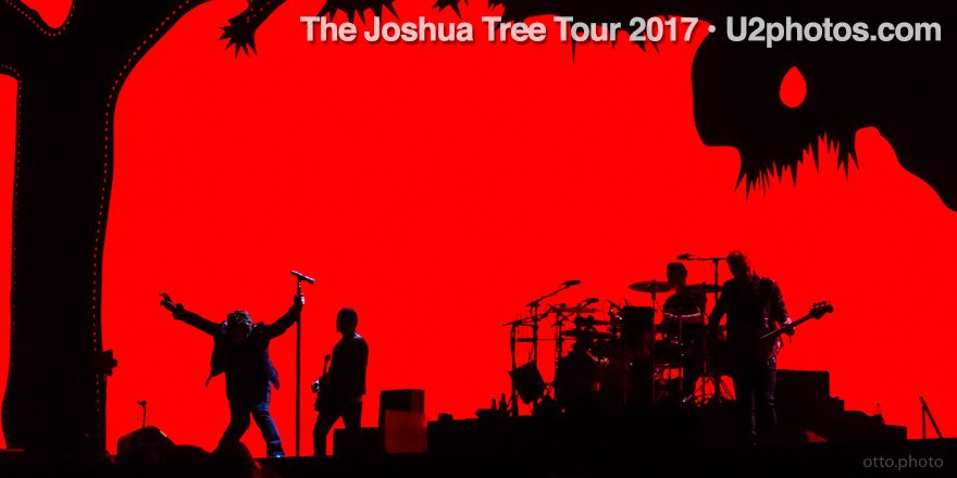 Hi my many U2 friends: finally posting my Joshua Tree 2017 tour