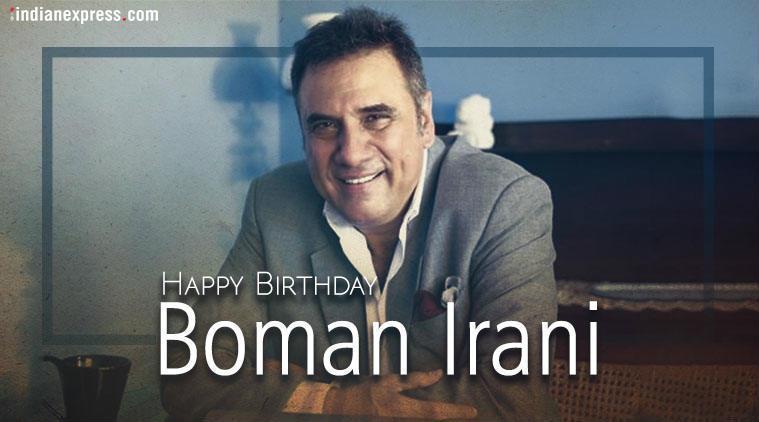 Happy Birthday Boman Irani: From a waiter to Munna Bhai s Dr Asthana, his inspiring journey