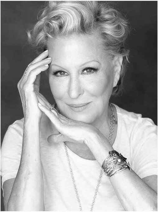 Happy birthday to you Bette midler you are the best