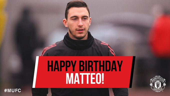 We wan wish Matteo Darmian Happy Birthday!