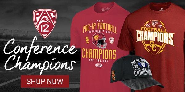 8e09608ec1 USC Athletics fans  It s not official until you ve got the gear. Shop like  a  Pac12FCG champion  http   pac12.me 2zGtQQC pic.twitter.com 9c4L0hlk8d