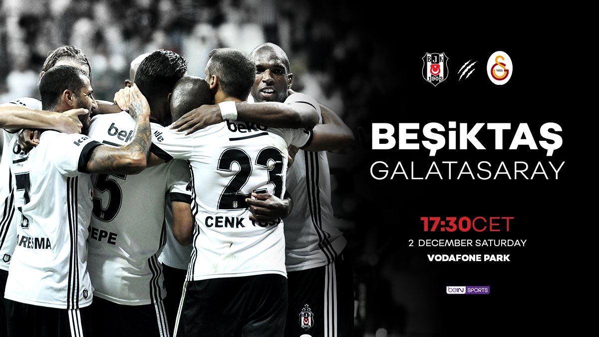 "The Black Eagles on Twitter: ""Matchday #Beşiktaş - Galatasaray… """