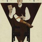 ライエンデッカーの作品で昇天しかけたのが此方。紳士の靴下留め姿(ソックス&ソックスガーターの…