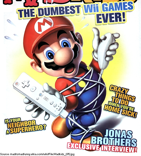 Supper Mario Broth On Twitter From The Cover Of An Issue Of Mad