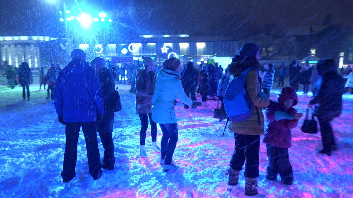 Europe's biggest ice skating rink opens in #moscow ...