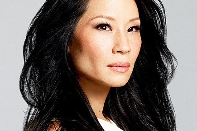 Happy to actress Lucy Liu who portrayed Kim Hsin in episode Hell Money.