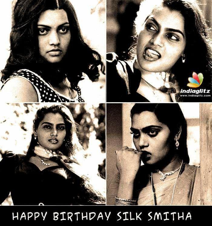 Happy birthday SILK SMITHA