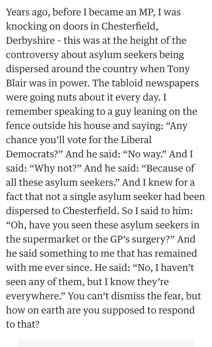 'I haven't seen any of them, but...'  Nick Clegg on fear of immigrants. https://t.co/tc25othHzS