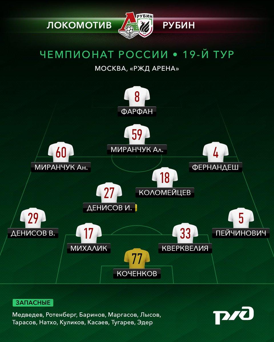 Обсуждение матча Локомотив -Рубин