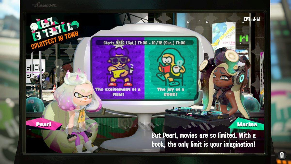 Exactly, Marina! Great theme! #Splatoon2 #NintendoSwitch