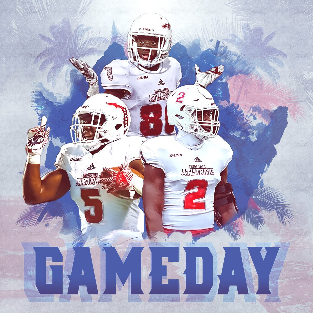 Fau Football On Twitter Wake Up Owl Nation It S Game Day