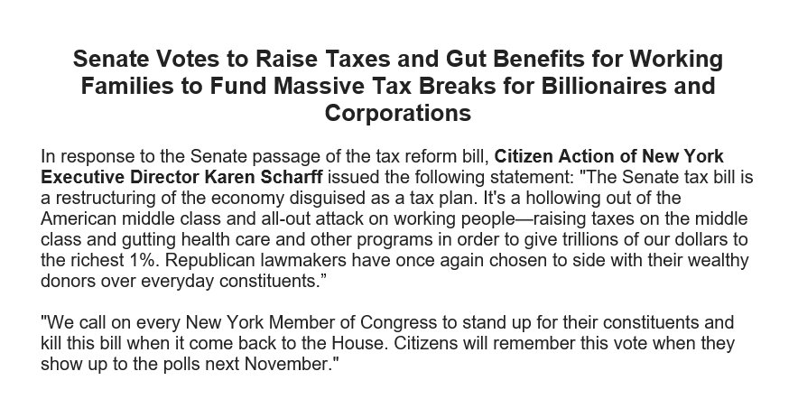 Our statement on the Senate passing the...