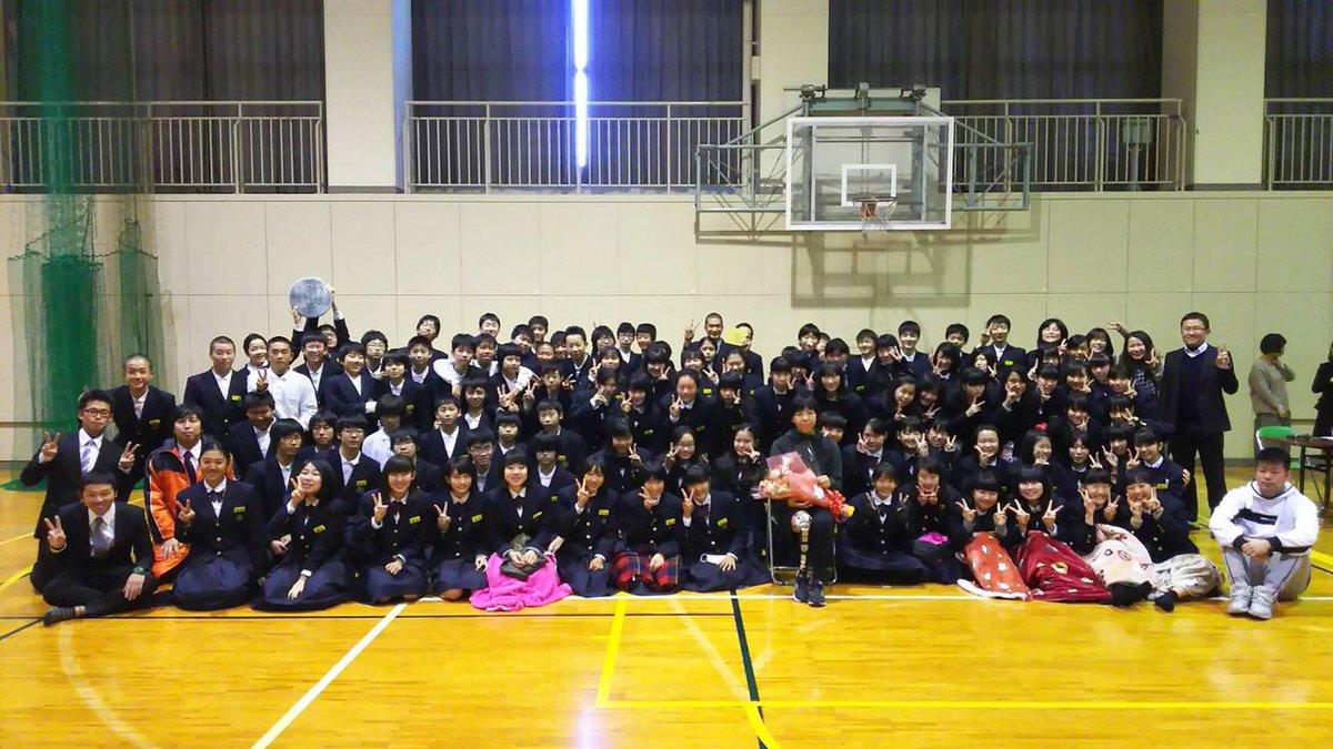 """前川 楓/Kaede Maegawa en Twitter: """"今日は南郊中学校で講演でした ..."""