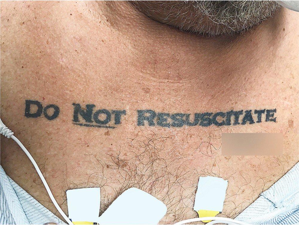 Homem com tatuagem 'não ressuscite' chega inconsciente a hospital e deixa médicos em dúvida https://t.co/A4MSgoGyCG #G1