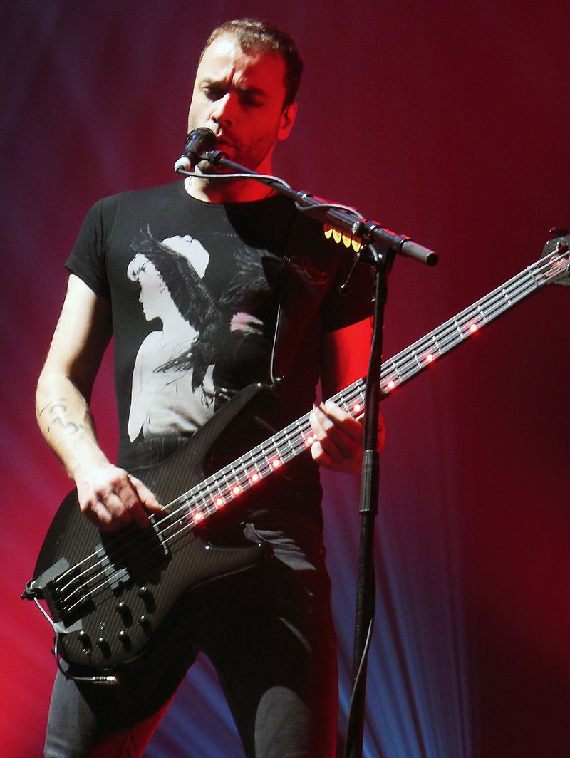 Happy Birthday to Christopher Wolstenholme  bass player of