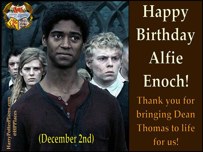 Happy Birthday to Alfred Enoch