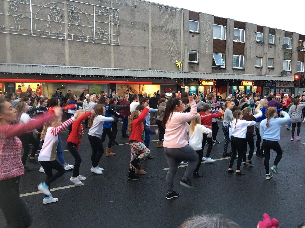 test Twitter Media - Flash mob dancing @ Bonnyrigg Xmas light switch on with ECFM @ECFMScotland https://t.co/KuSncLzmNO
