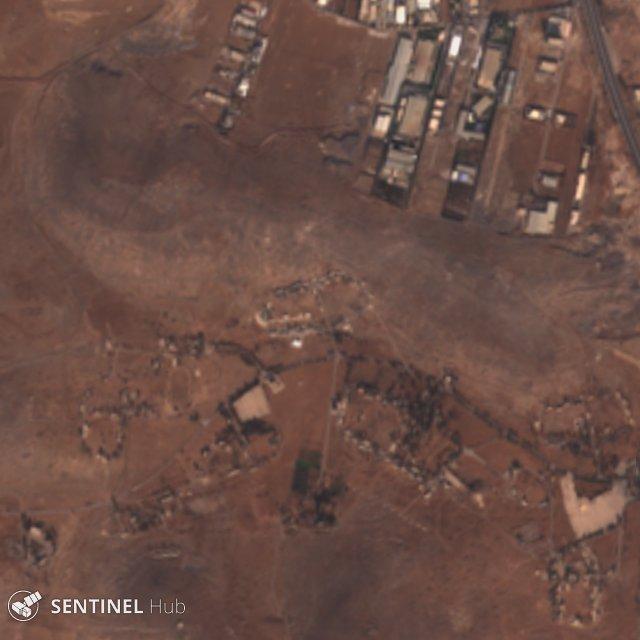 Перехват израильских ракет сирийской ПВО