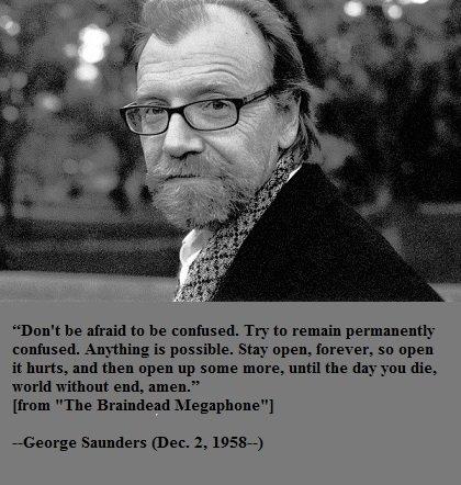 Happy birthday, George Saunders!