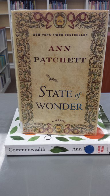 Happy Birthday to author, Ann Patchett!