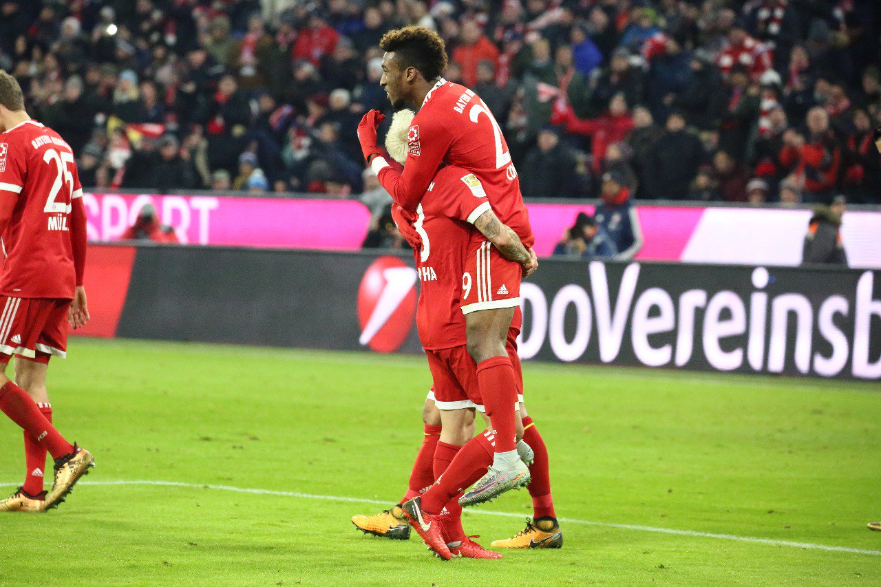 Bayern Munich 3-1 Hannover 96 Highlights