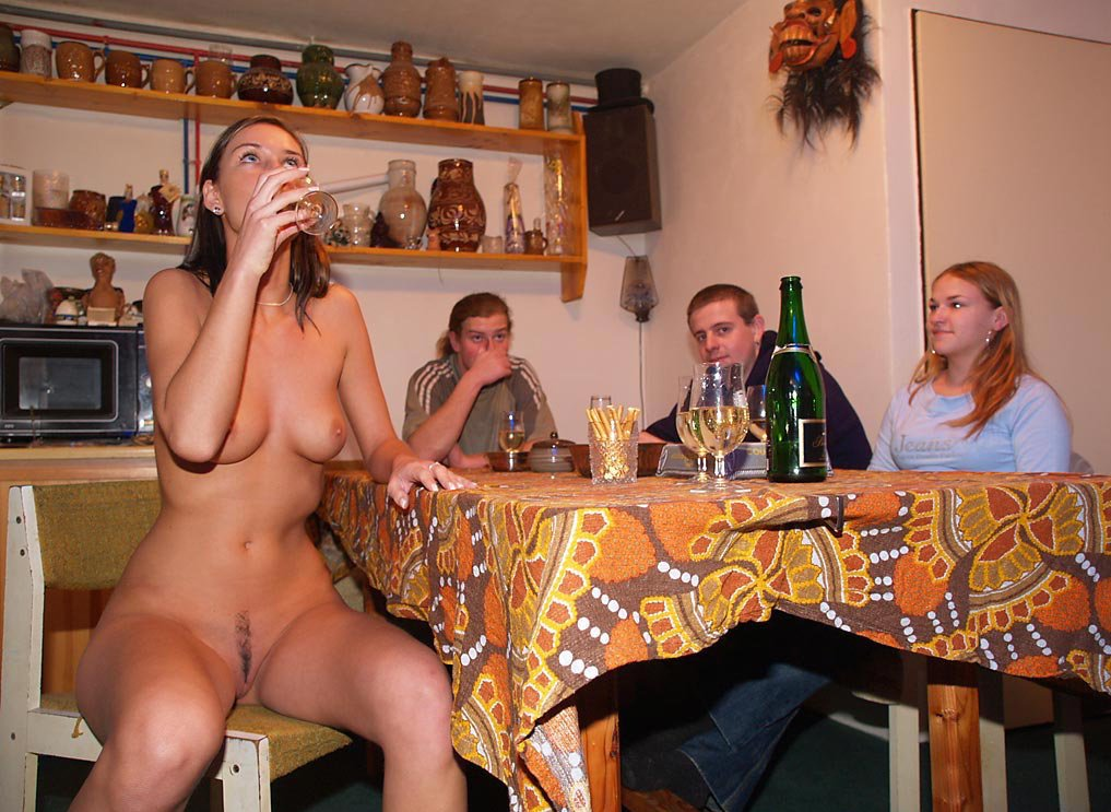 Slave Wife Naked Party