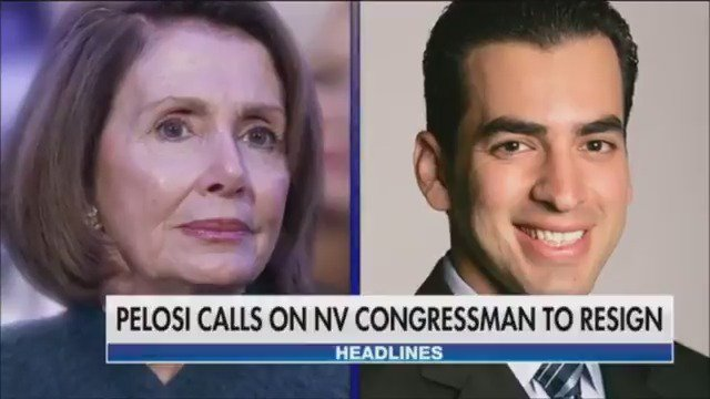 Nancy Pelosi calls for Nevada Congressman Ruben Kihuen to resign over woman's claims of unwanted advances https://t.co/AoLddhiEUv