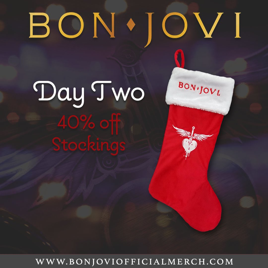 It's 40% off our stocking for Day Two of 12 Days of Christmas at https://t.co/jAVp44g6wa. https://t.co/XWceQ8llhD