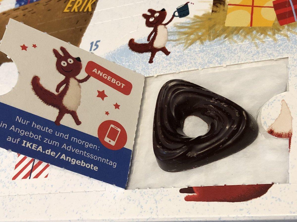 Weihnachtskalender Angebote.Jay F Kay On Twitter Ikea Adventskalender Tag 3 Edel Zartbitter