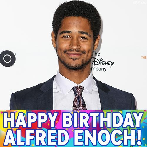 Happy Birthday to Wes Gibbins and Dean Thomas, Alfred Enoch!