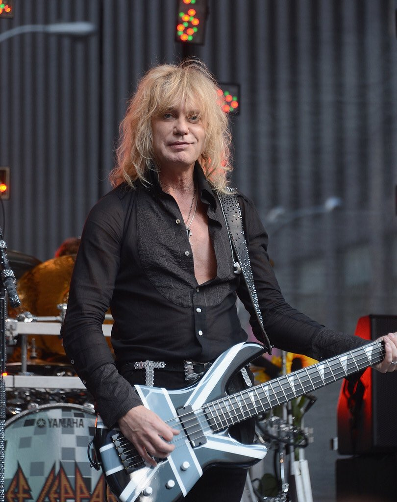 Happy Birthday to founding member of Def Leppard, Rick Savage, born Dec 2nd 1960
