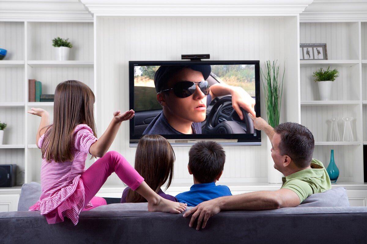 говяжью картинки просмотр телевизор помощью этих карточек